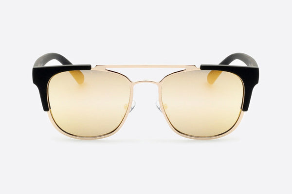 Quay High and Dry Black / Gold Sunglasses