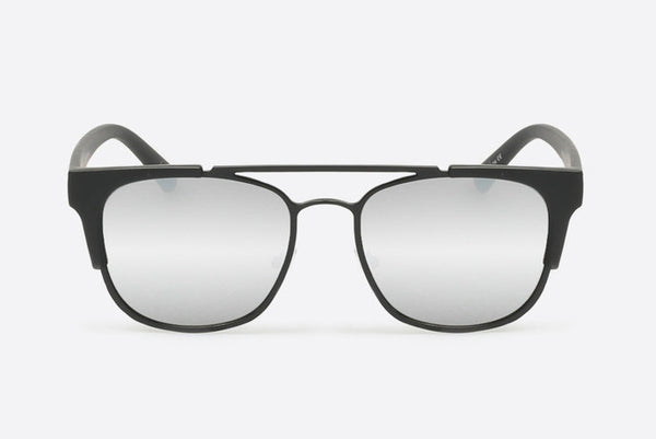 Quay High and Dry Black / Silver Sunglasses