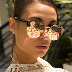 Quay Higher Love Rose Gold / Rose Sunglasses