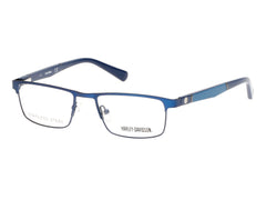 Harley-Davidson - HD0130T Matte Blue Eyeglasses / Demo Lenses
