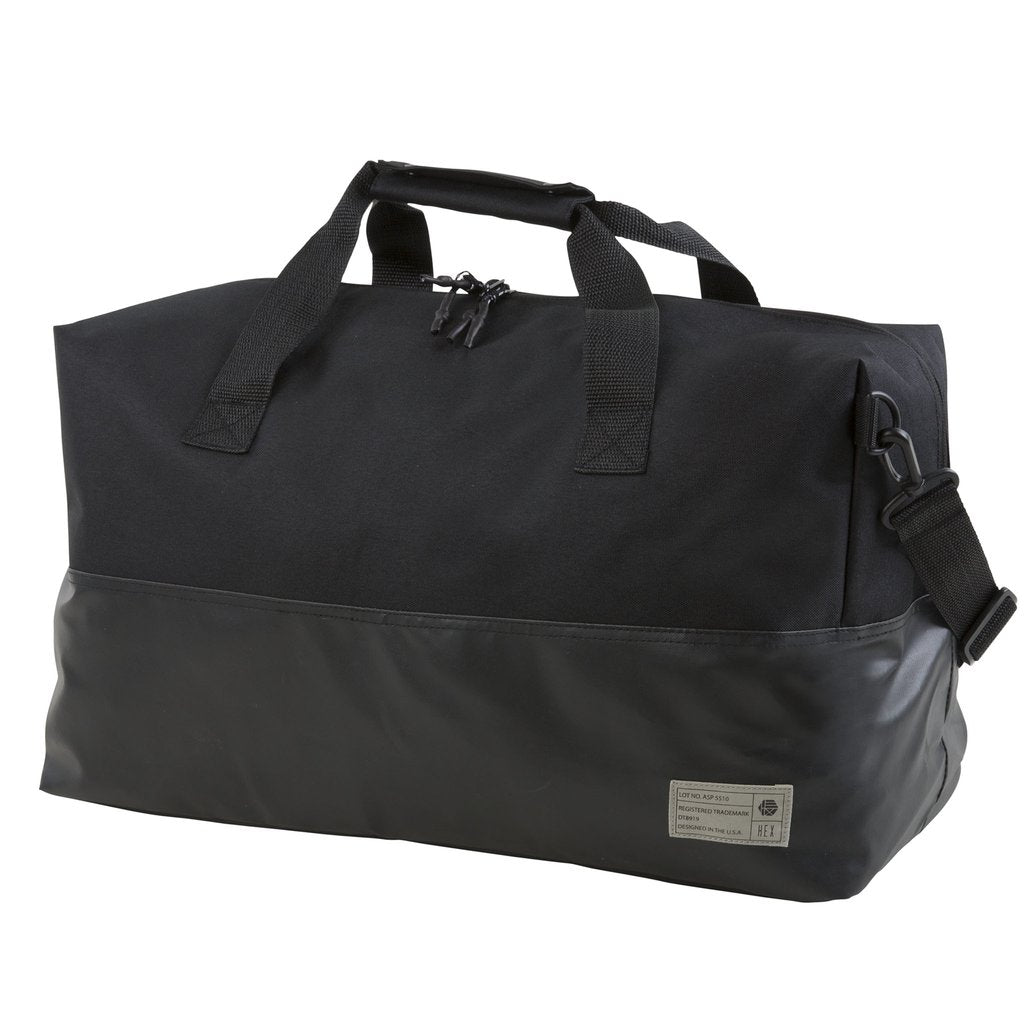 HEX - Aspect Matte Black Duffel Bag