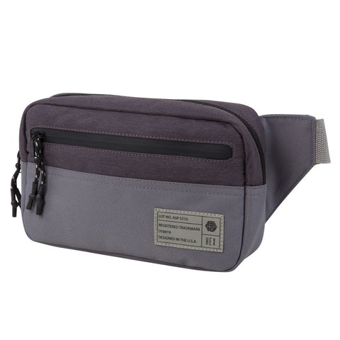 HEX - Aspect Grey Color Block Waist Pack