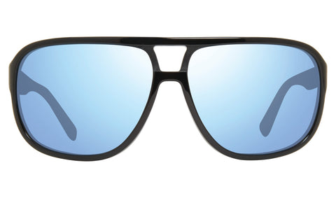 Revo - Hank 62mm Black Sunglasses / Blue Water Lenses