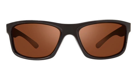 Revo - Harness 61mm Matte Black Sunglasses / Golf Lenses
