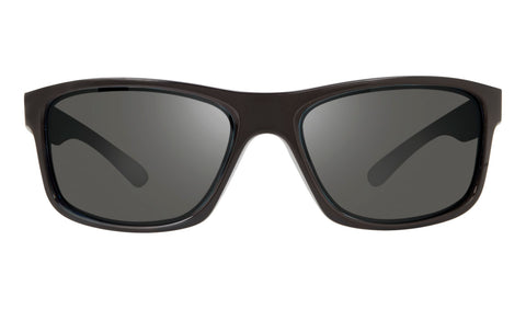 Revo - Harness 61mm Matte Black Sunglasses / Graphite Lenses