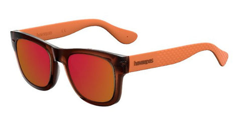 Havaianas - Paraty M Brown Ochre Sunglasses / Red Mirror Lenses