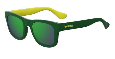 Havaianas - Paraty M Green Yellow Sunglasses / Green Multi Layer Lenses