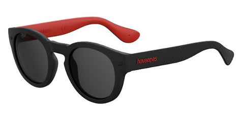 Havaianas - Trancoso M Red Black Sunglasses / Gray Blue Lenses