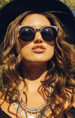 Quay Highly Strung Tortoise Shell / Silver Sunglasses