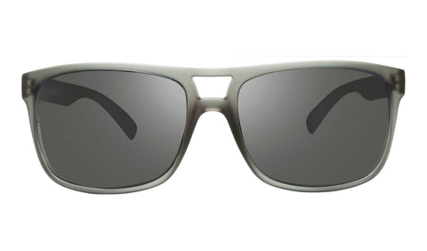 Revo - Holsby 58mm Matte Grey Crystal Sunglasses / Graphite Lenses