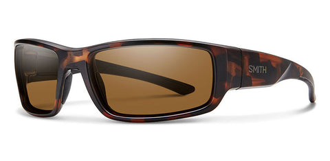 Smith - Survey Matte Tortoise Sunglasses / Carbonic Polarized Brown Lenses