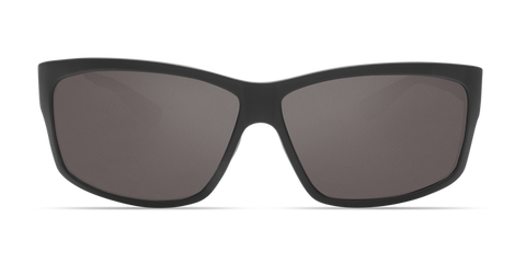 Costa - Cut Blackout Sunglasses / Gray Polarized Glass Lenses