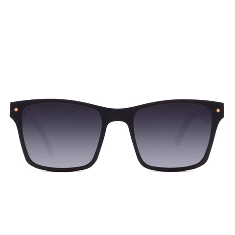 Proof Ada Eco Black Sunglasses / Sky Mirror Polarized Lenses