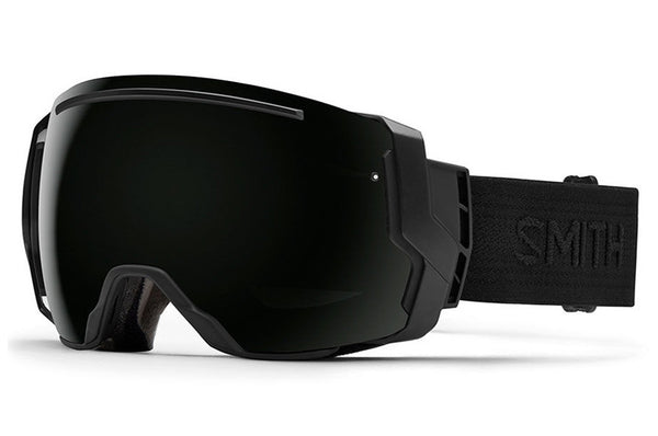 Smith I/O7 Black - Black Goggles, Blackout Lenses