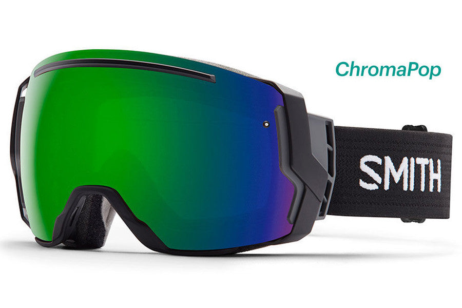 Smith - I/O7 Black Goggles, ChromaPop Sun Lenses