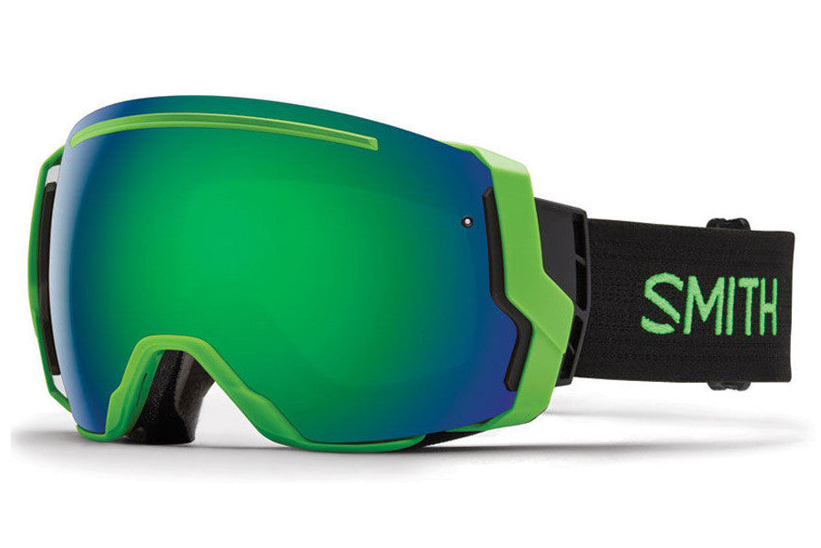 Smith - I/O7 Reactor Goggles, Green Sol-X Mirror Lenses