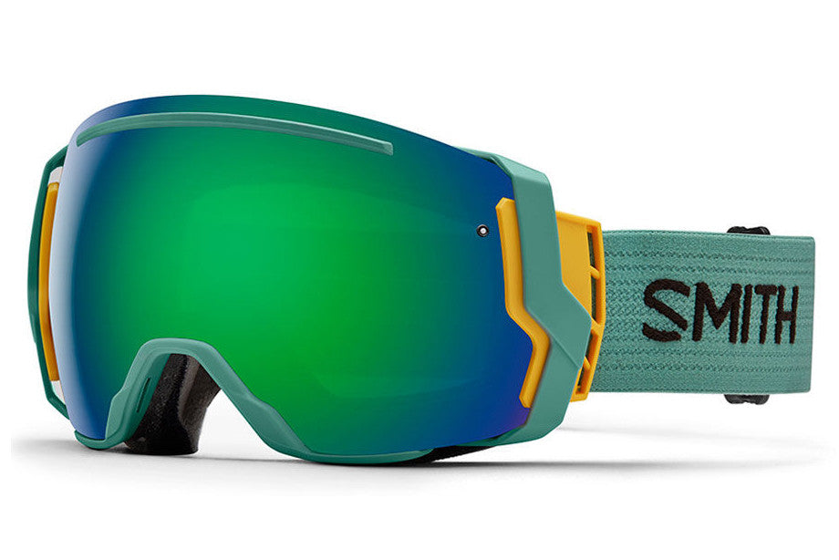 Smith - I/O7 Ranger Scout Goggles, Green Sol-X Mirror Lenses