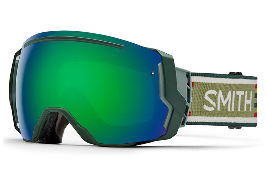 Smith - I/O7 Forest Woolrich Goggles, Green Sol-X Mirror Lenses