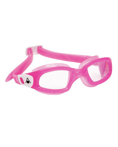 Aqua Sphere - Kameleon Kid Pink White Accents Swim Goggles / Clear  Lenses