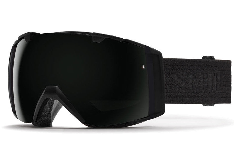 Smith - I/O Black - Black Goggles, Blackout Lenses