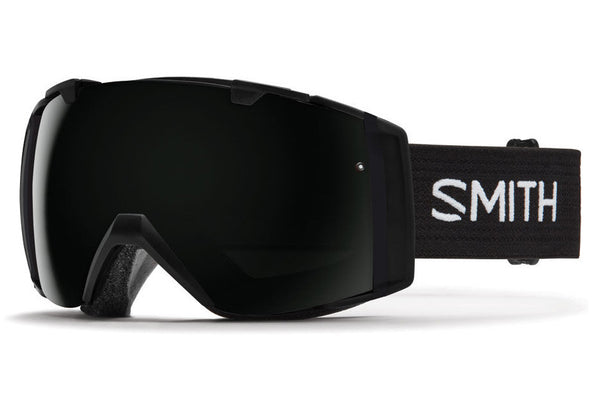 Smith - I/O Black Goggles, Blackout Lenses