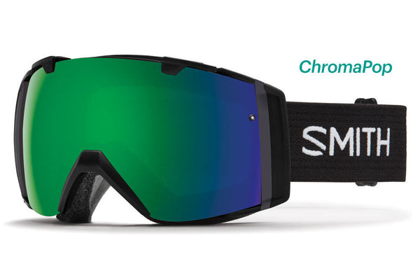 Smith - I/O Black Goggles, ChromaPop Sun Lenses