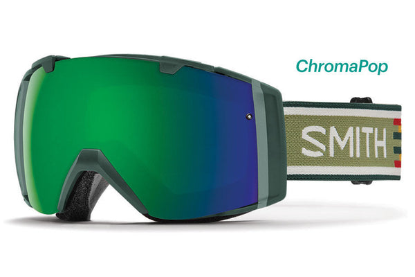 Smith - I/O Forest Woolrich Goggles, ChromaPop Sun Lenses