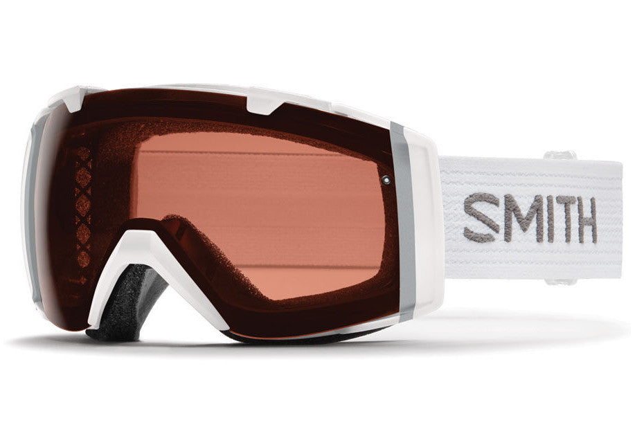Smith - I/O White Goggles, Polarized Rose Copper Lenses