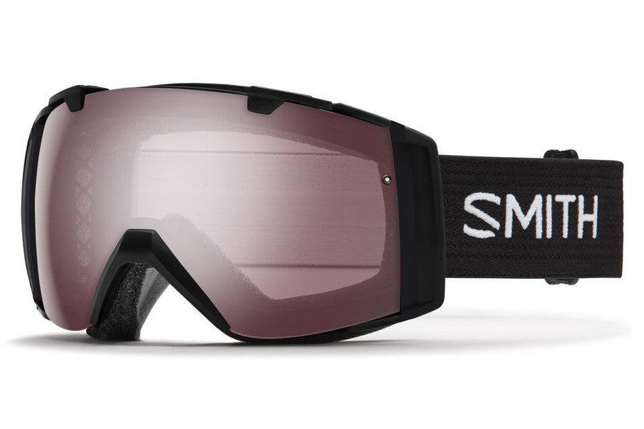 Smith - I/O Black Goggles, Ignitor Mirror Lenses