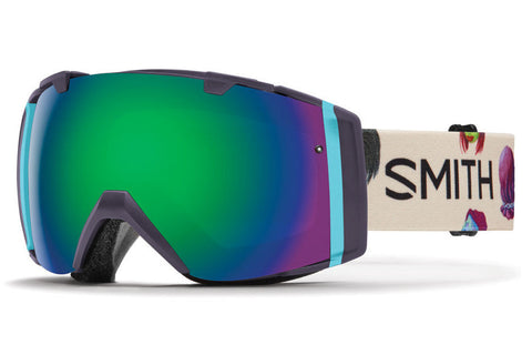 Smith - I/O Shadow Purple Creature Goggles, Green Sol-X Mirror Lenses