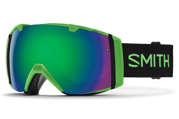 Smith - I/O Reactor Goggles, Green Sol-X Mirror Lenses