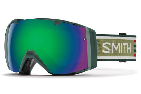 Smith - I/O Forest Woolrich Goggles, Green Sol-X Mirror Lenses