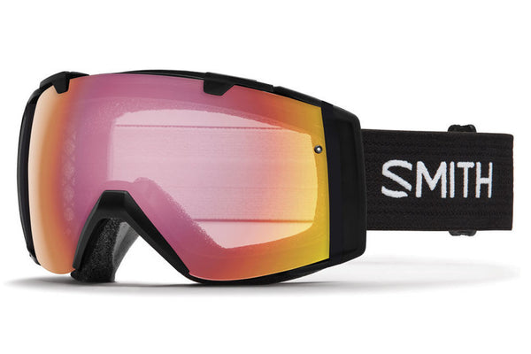 Smith - I/O Black Goggles, Photochromic Red Sensor Lenses