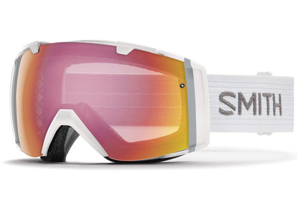 Smith - I/O White Goggles, Photochromic Red Sensor Lenses