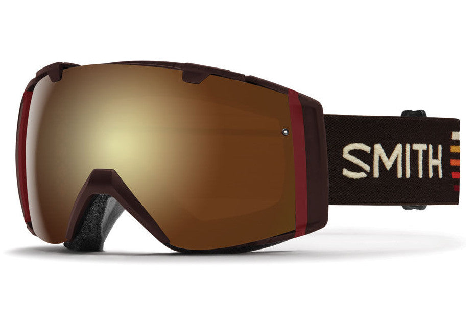Smith - I/O Morel Sunset Goggles, Gold Sol X Mirror Lenses