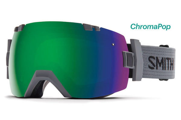 Smith - I/OX Charcoal Goggles, ChromaPop Sun Lenses