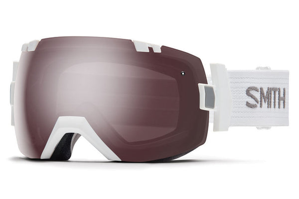 Smith - I/OX White Goggles, Ignitor Mirror Lenses