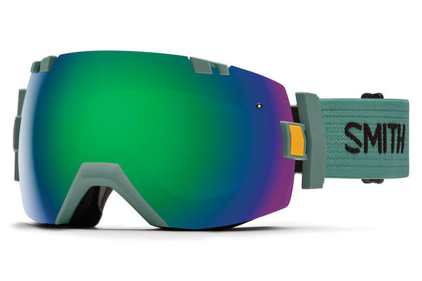 Smith - I/OX Ranger Scout Goggles, Green Sol-X Mirror Lenses