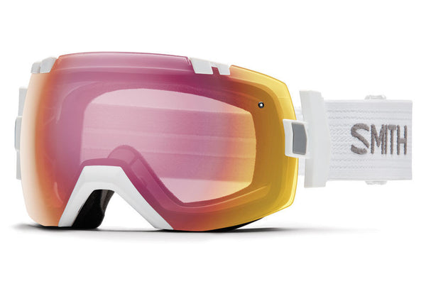 Smith - I/OX White Goggles, Photochromic Red Sensor Lenses