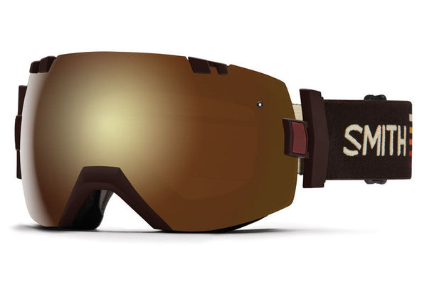 Smith - I/OX Morel Sunset Goggles, Gold Sol X Mirror Lenses