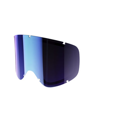 POC - Iris Small Persimmon + Blue Mirror Snow Goggle Replacement Lens