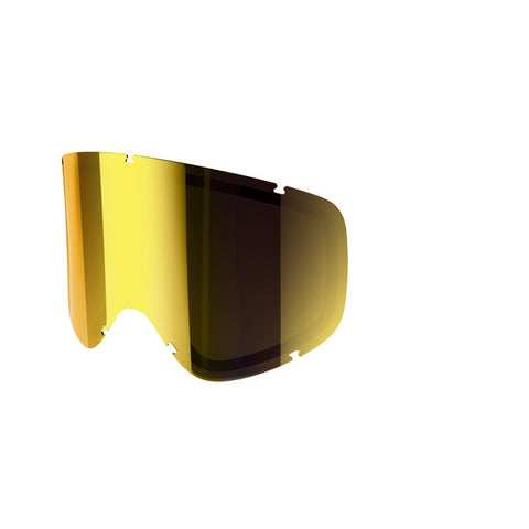 POC - Iris Stripes Small Pink + Gold Mirror Snow Goggle Replacement Lens