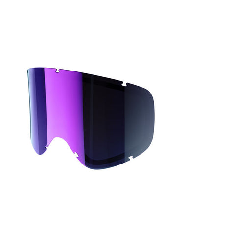 POC - Iris Regular Regular Grey + Purple Mirror Snow Goggle Replacement Lens