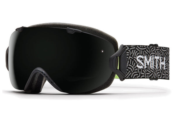 Smith - I/OS Black New Wave Goggles, Blackout Lenses