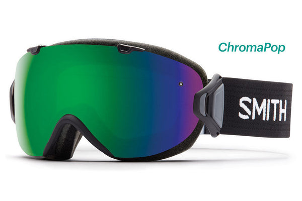Smith - I/OS Black Goggles, ChromaPop Sun Lenses