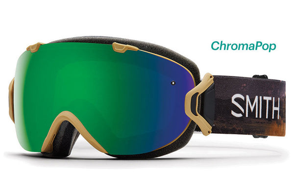 Smith - I/OS Prairie Buffalo Goggles, ChromaPop Sun Lenses