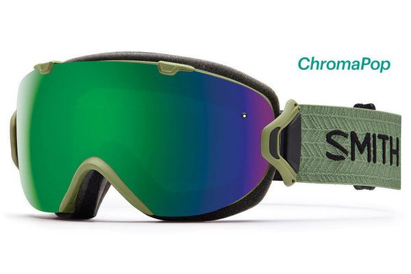 Smith - I/OS Olive Goggles, ChromaPop Sun Lenses