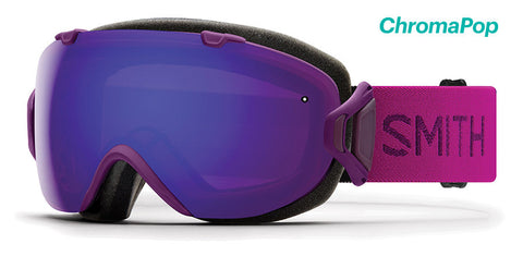 Smith - IOS Asian Fit Monarch Snow Goggles / ChromaPop Everyday Violet Mirror + ChromaPop Storm Lenses