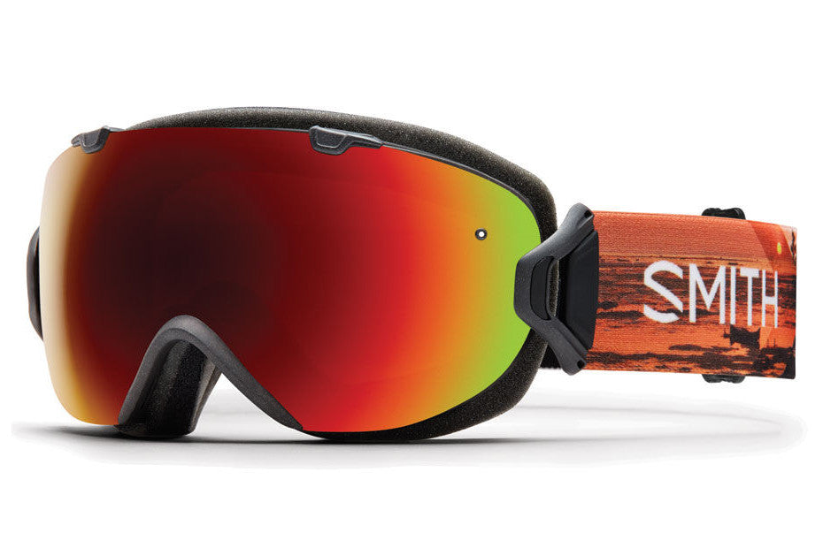 Smith I/OS Elena ID Goggles, Red Sol-X Mirror Lenses