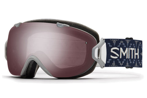 Smith - I/OS Asian Fit Frost Woolrich Goggles, Ignitor Mirror Lenses